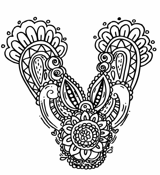 letter d coloring pages - elephantbell i=438 53