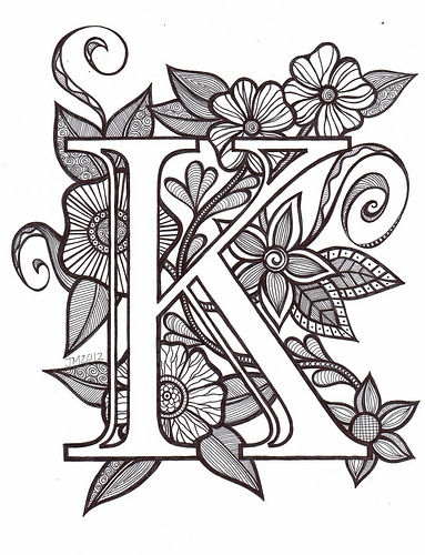 letter d coloring pages - pool N24