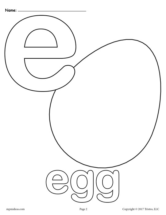 letter e coloring page - letter e alphabet coloring pages 3 free printable versions