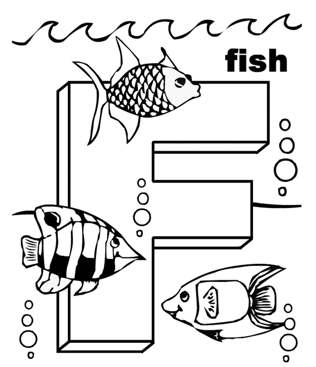 28 letter f coloring page compilation