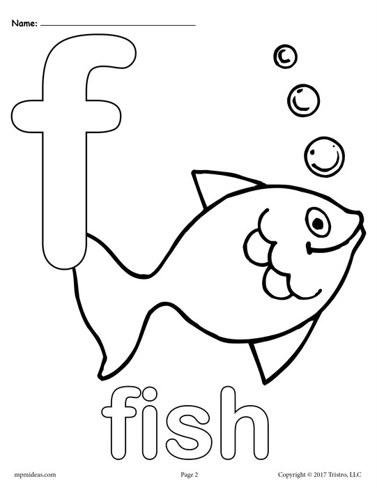 letter f coloring page - letter f alphabet coloring pages 3 free printable versions