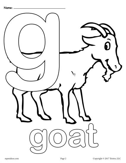 letter g coloring pages - utm source=pinterest&utm medium=social media&utm content=post