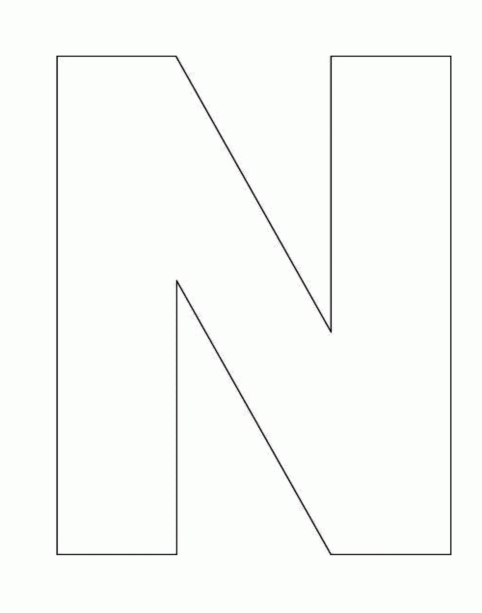 20 Letter N Coloring Page Collections | FREE COLORING PAGES - Part 3