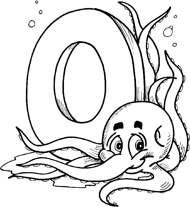 letter o coloring pages - otml