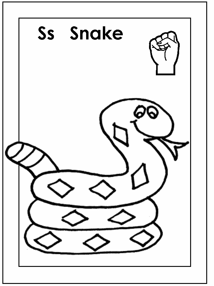 letter p coloring pages - t3444 topic