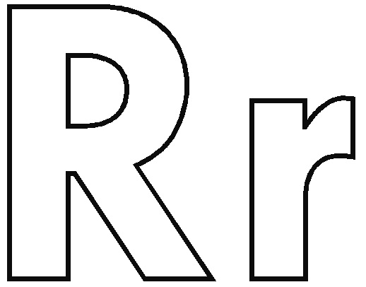 Letter R Coloring Pages - Fresh Letter R Coloring Pages 17 for Your Coloring Pages