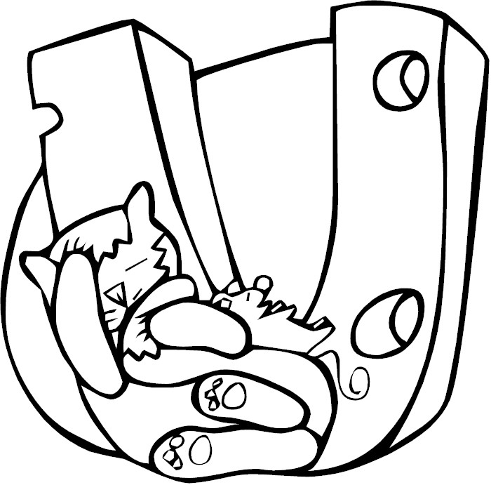 letter u coloring page - pfu