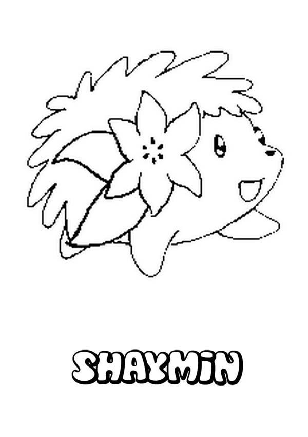 letter x coloring pages - shaymin hedgehog pokemon coloring pages
