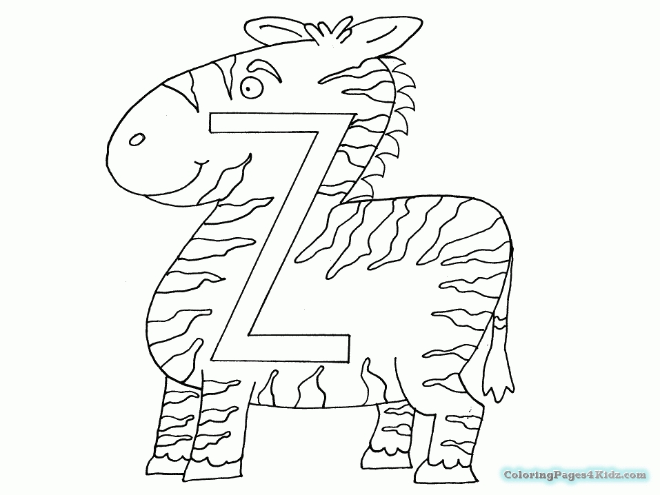 20 Letter Z Coloring Page Pictures Free Coloring Pages