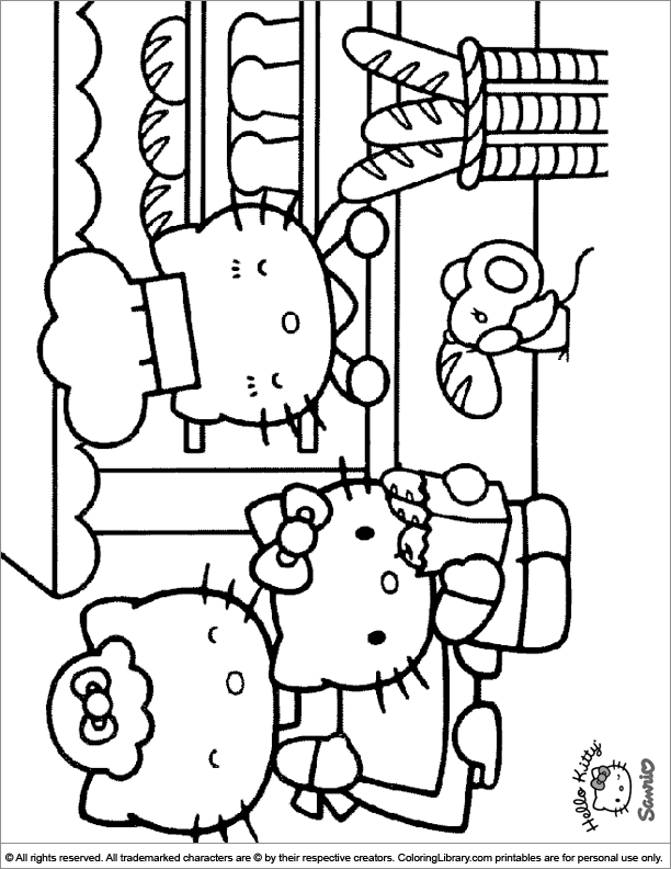 library coloring pages - page 815