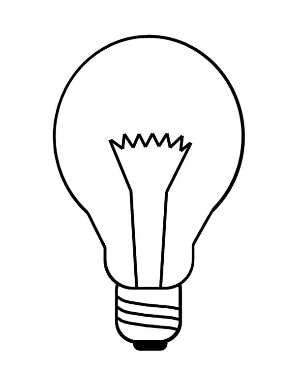 Light Bulb Coloring Page - 317 Best Images About Arabic Alphabets Crafts & Coloring