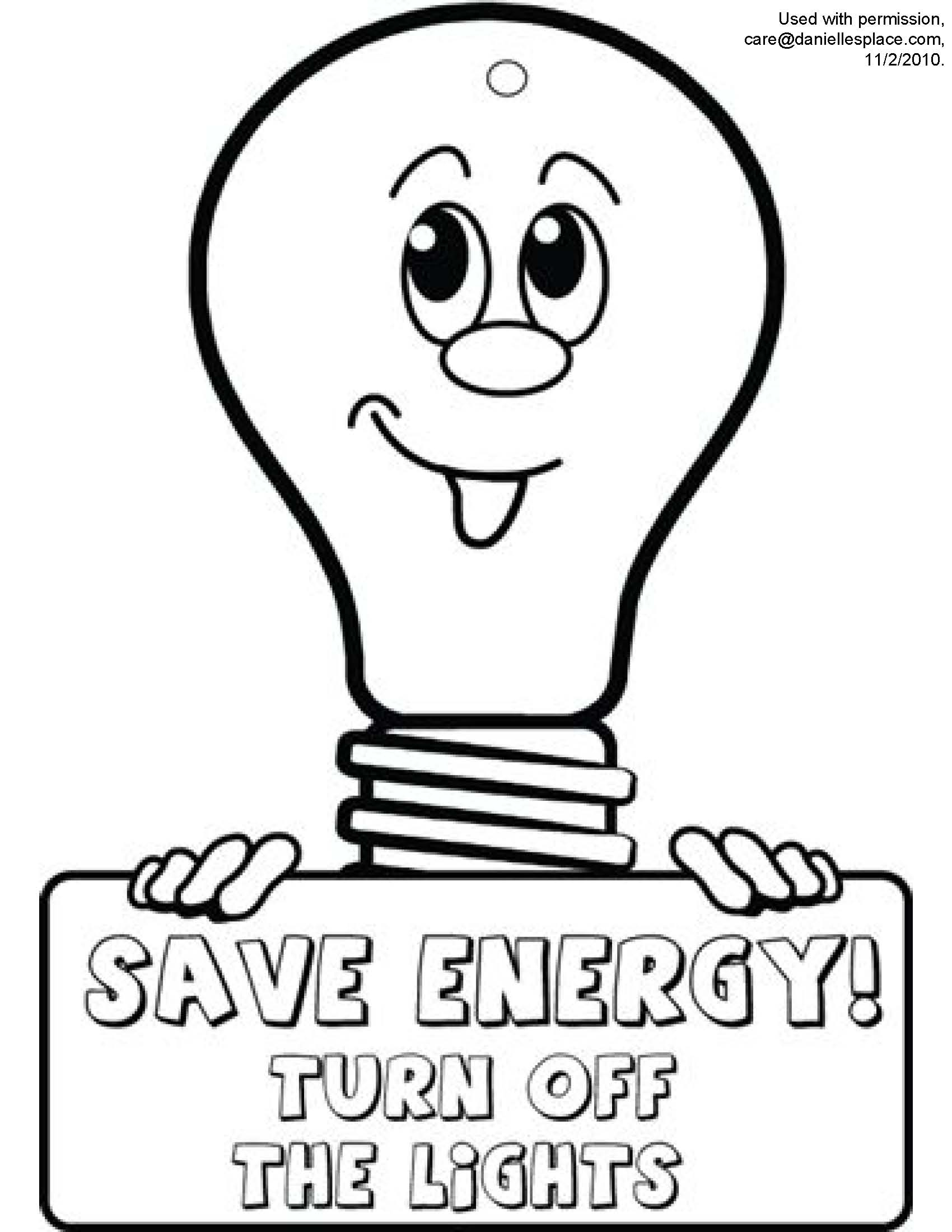 light bulb coloring page - modulesm