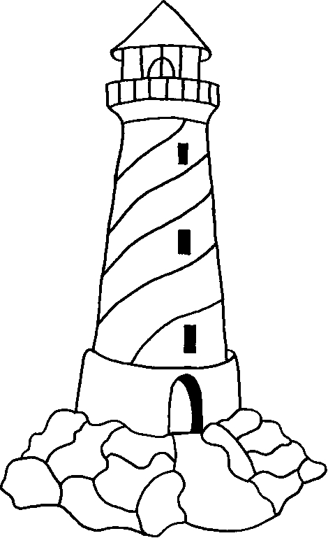 lighthouse coloring pages - coastal lighthouse coloring pages for adults sketch templates