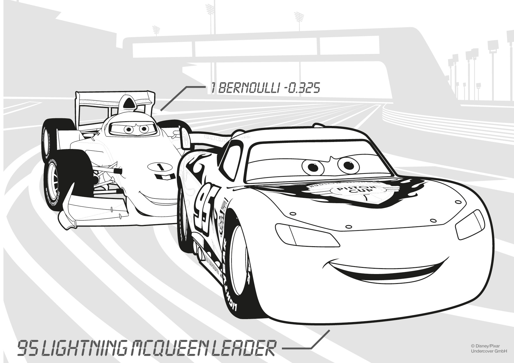 Auto Ausmalbilder Cars : 23 Lightning Mcqueen Coloring Pages Collections Free Coloring