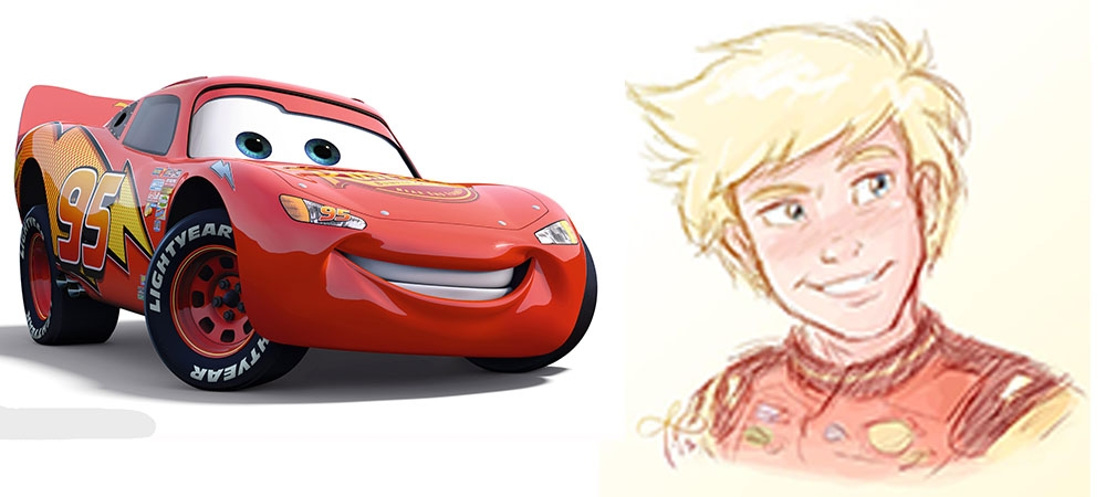 lightning mcqueen coloring pages - cmF5byBtY3F1ZWVu