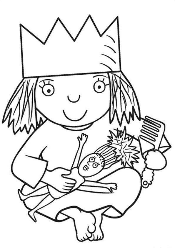 lilo and stitch coloring pages - kleine prinzessin 26
