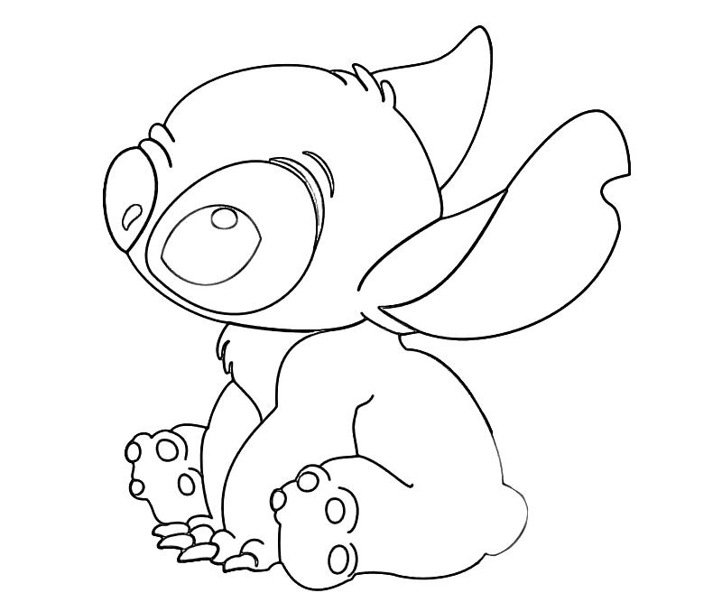 lilo and stitch coloring pages - lilo and stitch coloring pages 2