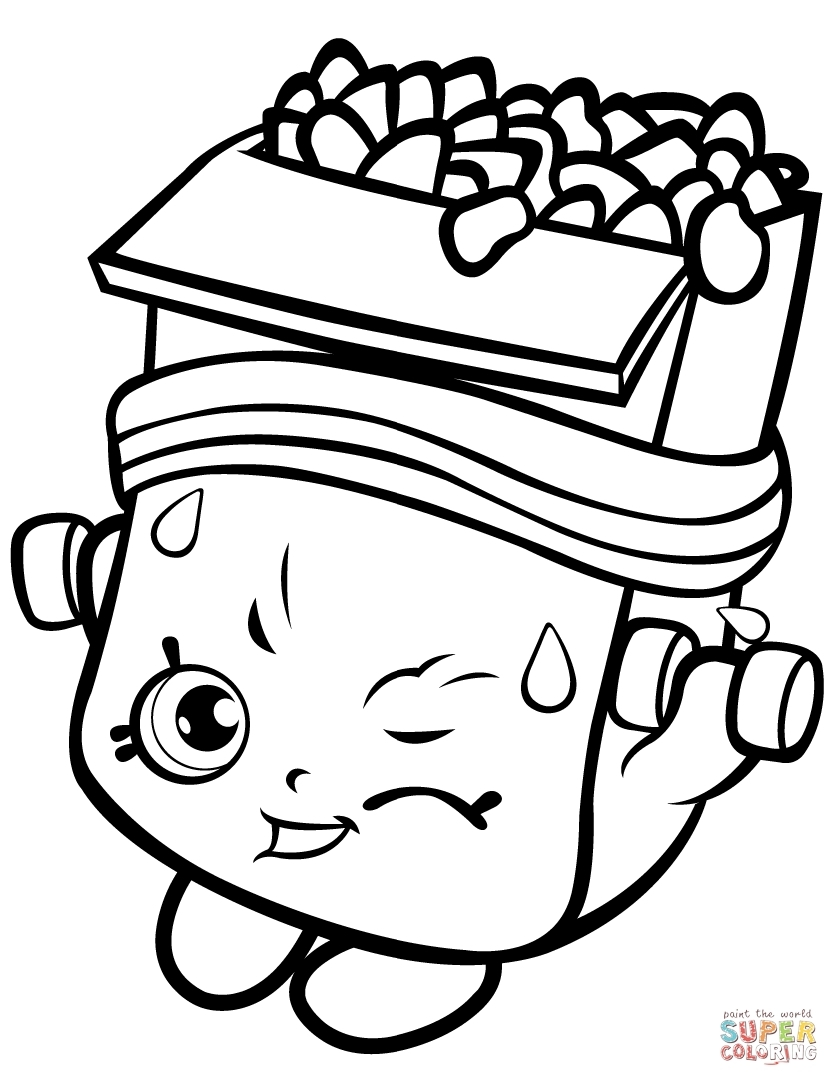 Link Coloring Pages - Coloring Pages for Girls Shopkins Apple Download 2