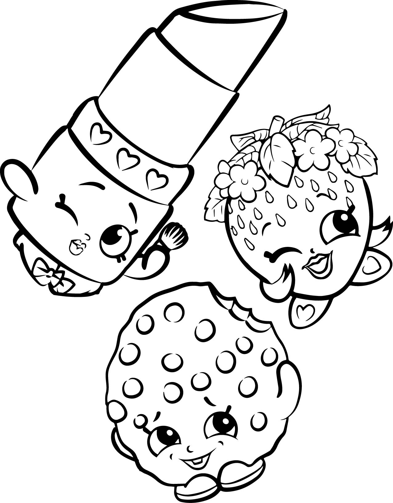link coloring pages - shopkins house coloring page 8 2