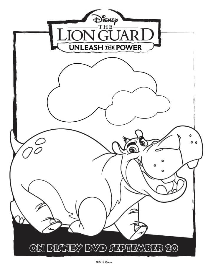 lion guard coloring pages - the lion guard coloring pages printable sketch templates