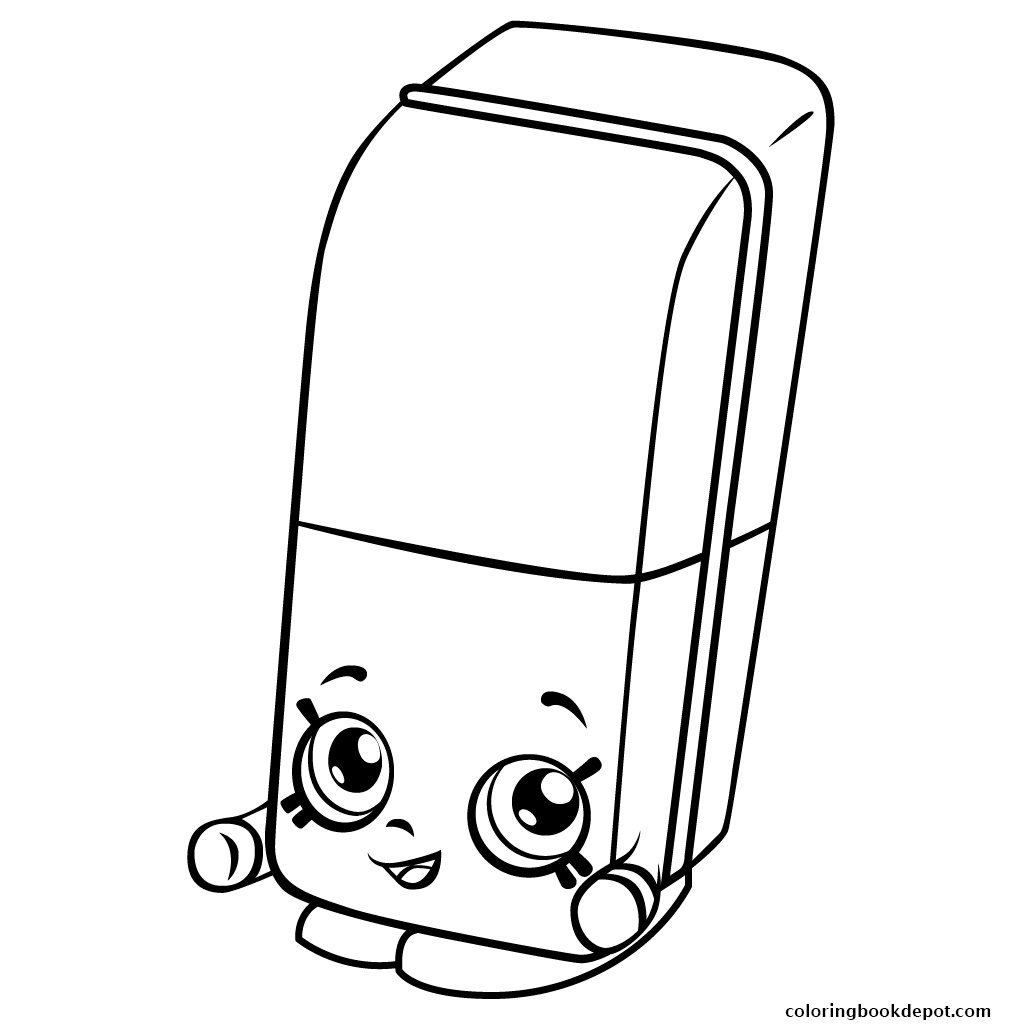 lips coloring page - shopkins coloring page lippy lips free 7