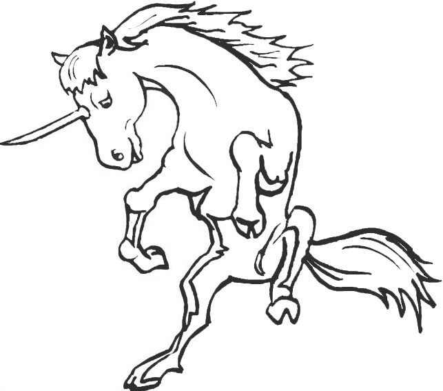 lisa frank coloring pages - einhorn ausmalbilder