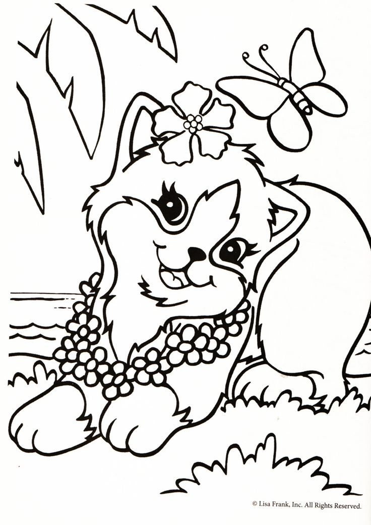 Lisa Frank Coloring Pages - Lisa Frank Princess Colouring Pages Az Coloring Pages