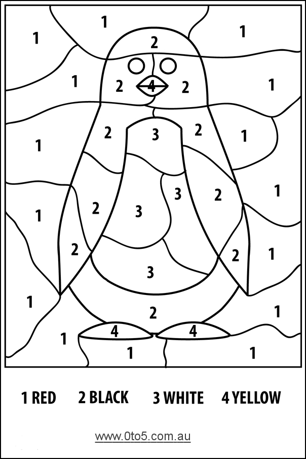 little boy coloring pages - coloring print easy color by number at model gallery coloring ideas