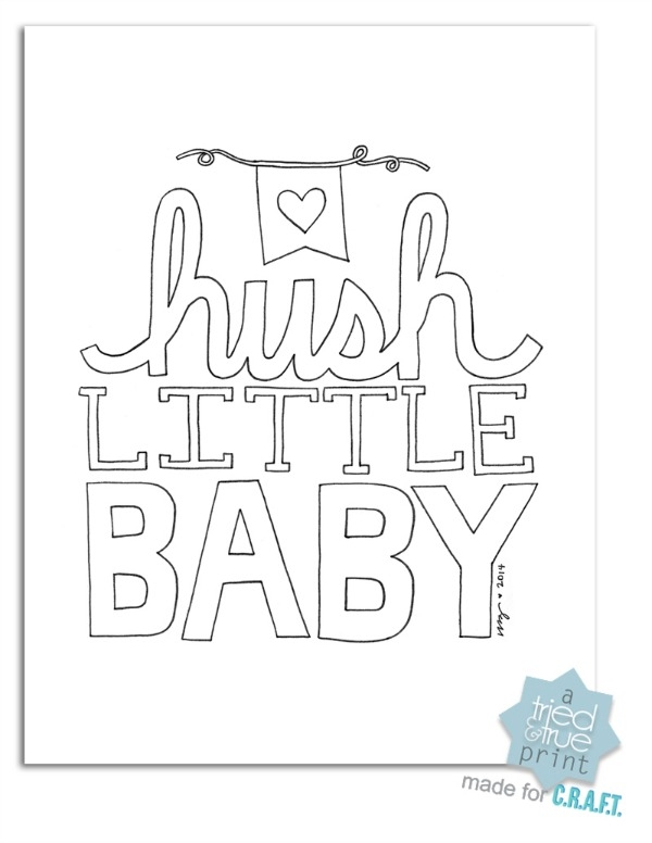 little boy coloring pages - free nursery printables