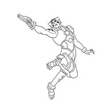little boy coloring pages - superhero coloring pages