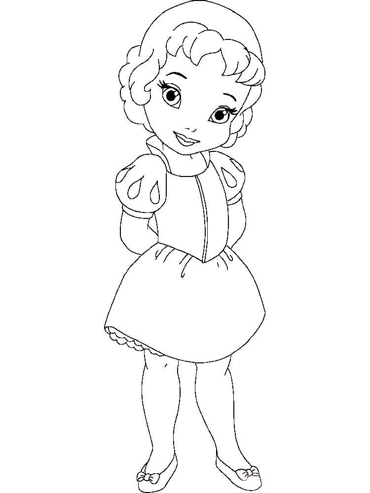 25 Little Girl Coloring Pages Pictures   FREE COLORING PAGES - Part 2