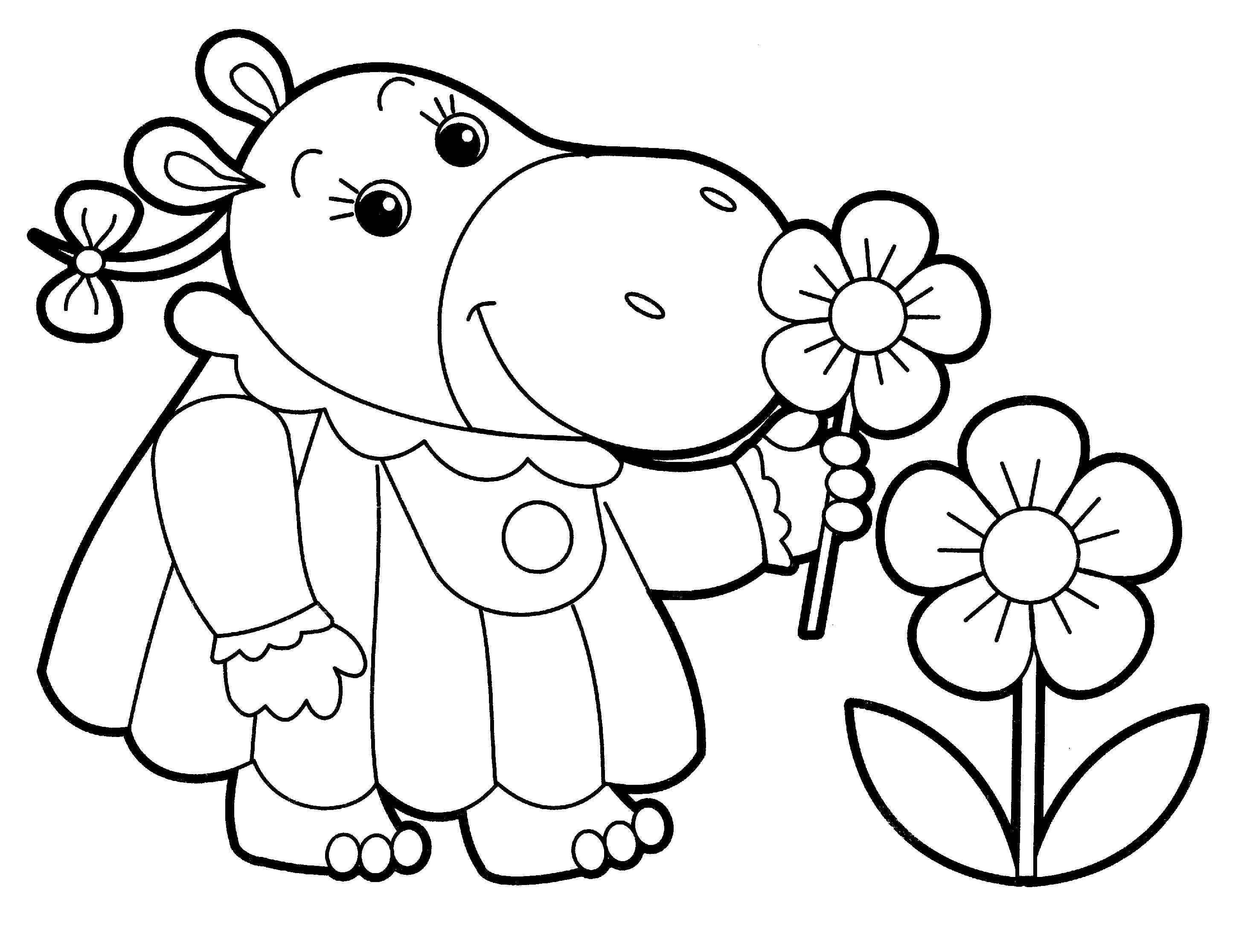 little kid coloring pages - animal coloring pages for adults