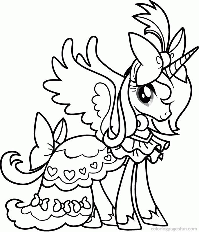 little pony coloring pages - my little pony coloring page