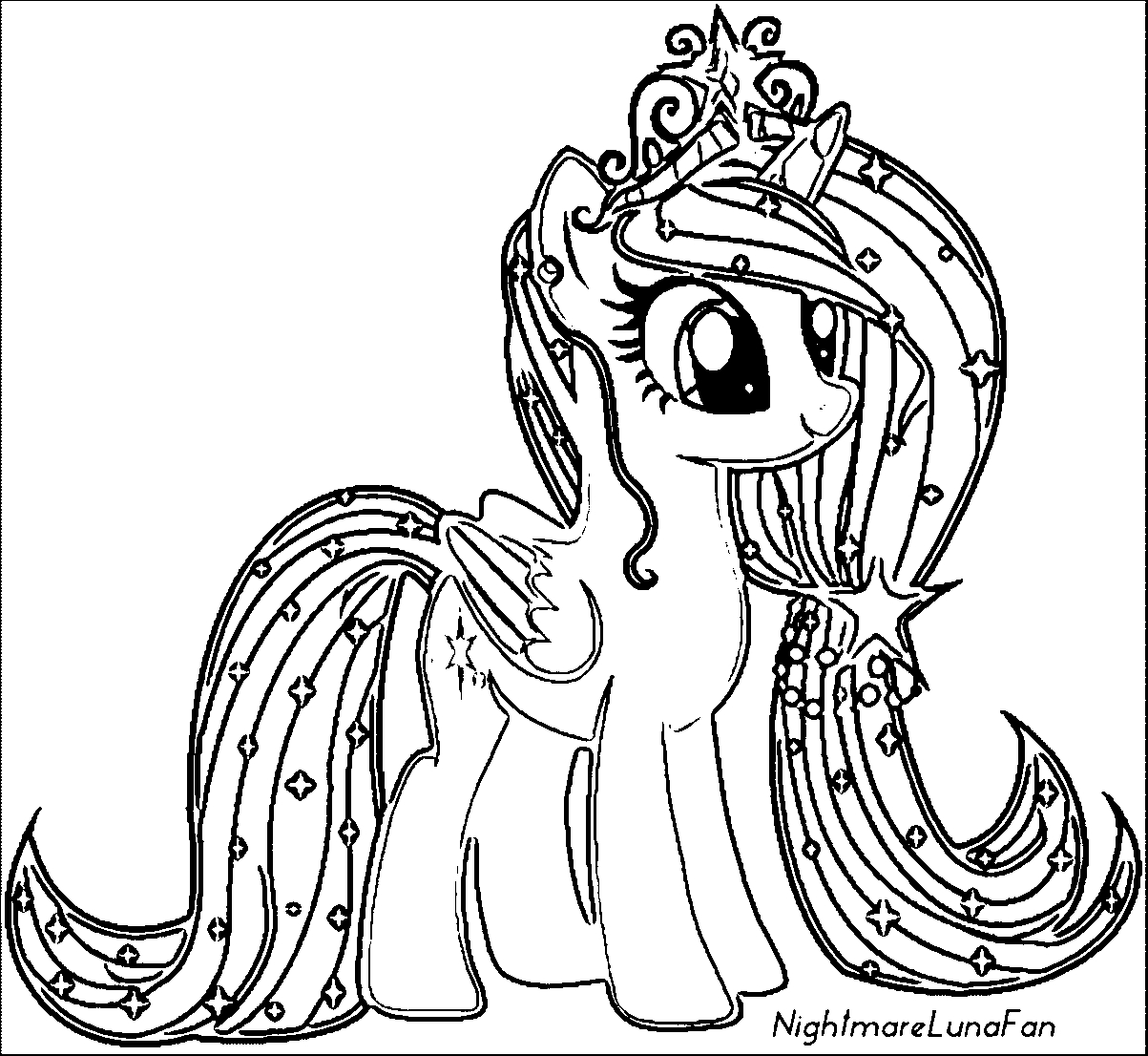 little pony coloring pages - my little pony coloring pages with all ponies