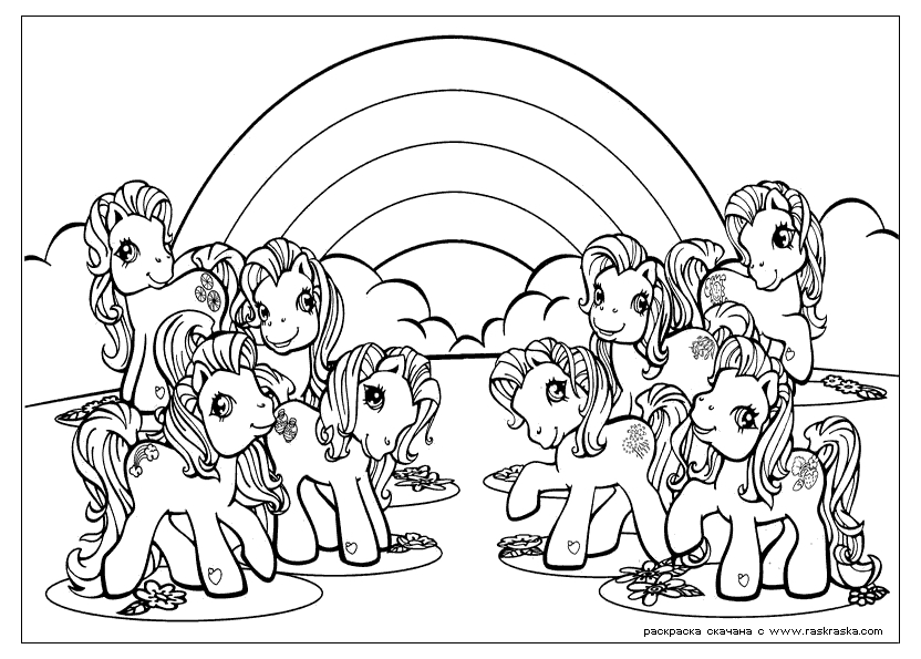 little pony coloring pages - my little pony royal wedding coloring