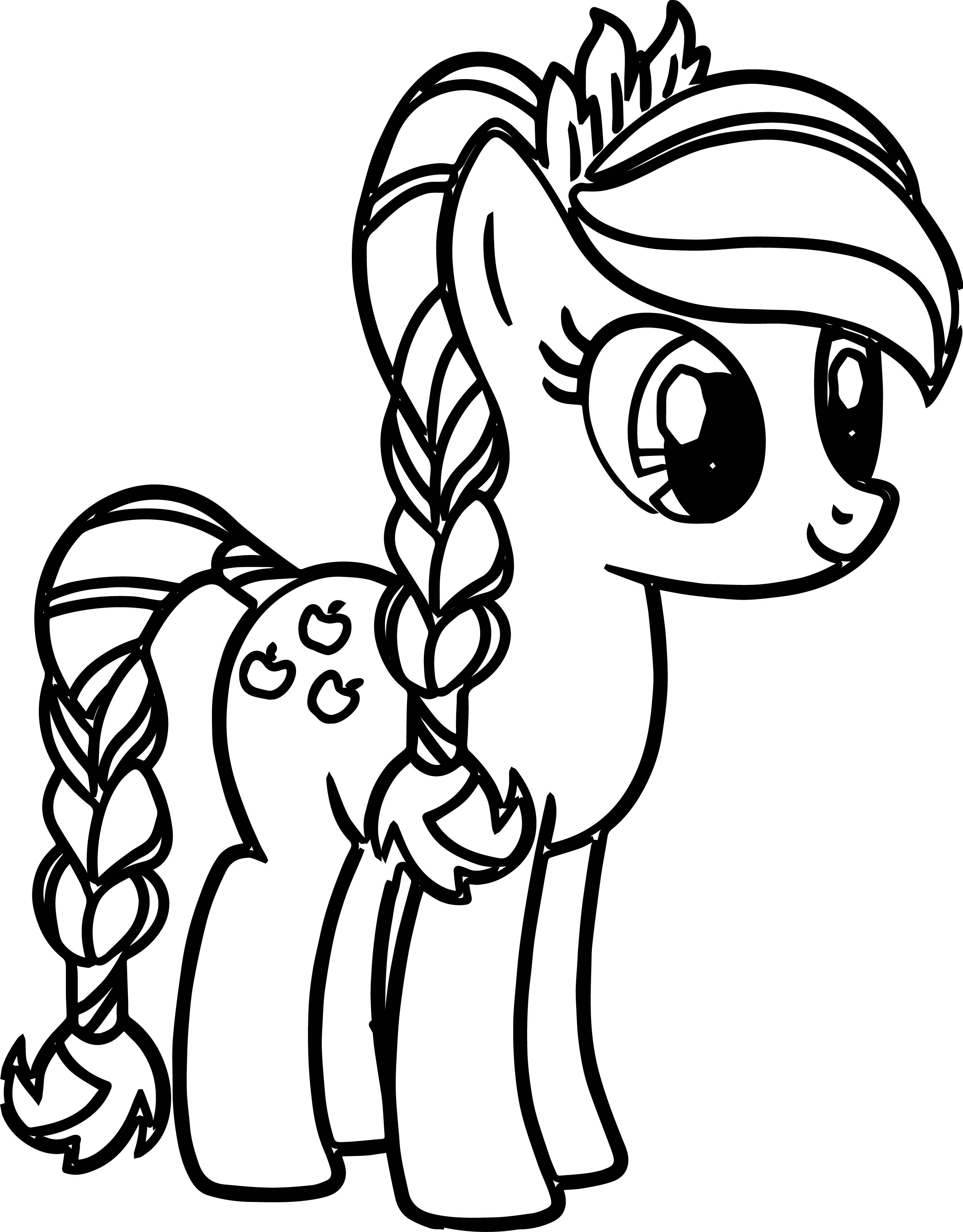 little pony coloring pages - pony cartoon my little pony coloring pages