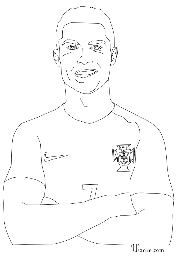liv and maddie coloring pages - coloriage cristiano ronaldo au portugal