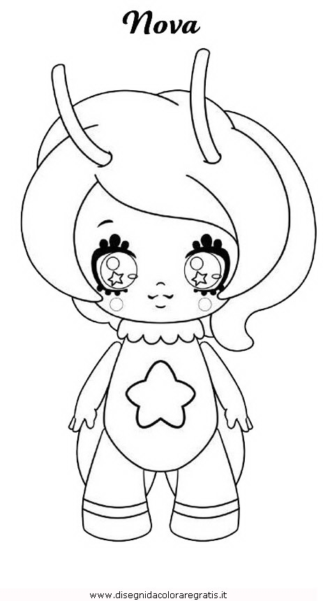 lol doll coloring pages - disegno glimmies 05