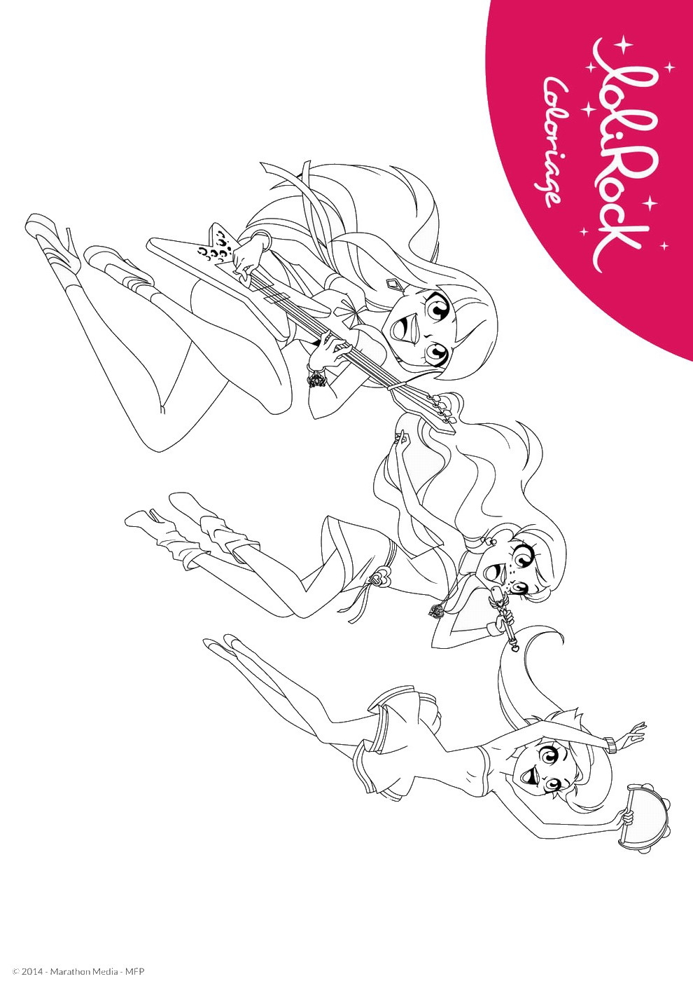 lolirock coloring pages - p=