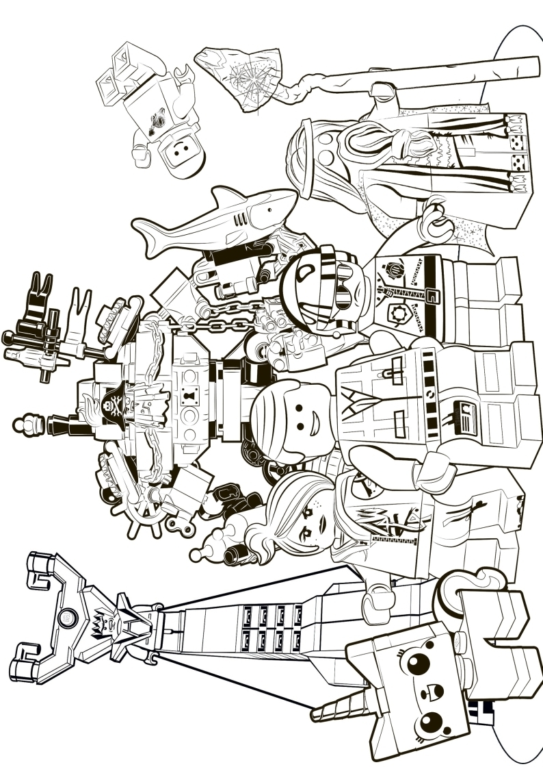 lord of the rings coloring pages - c kolorowanka Lego 39