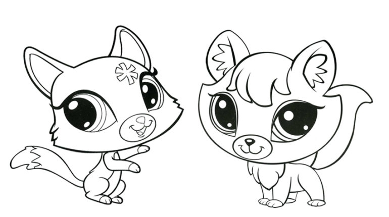 lps coloring pages - lps varityskuvia