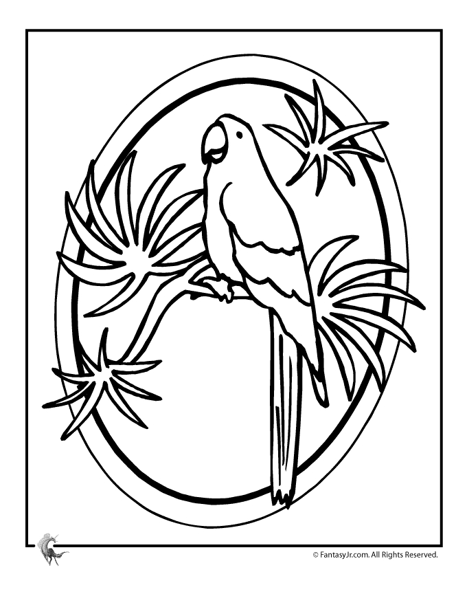 luau coloring pages -