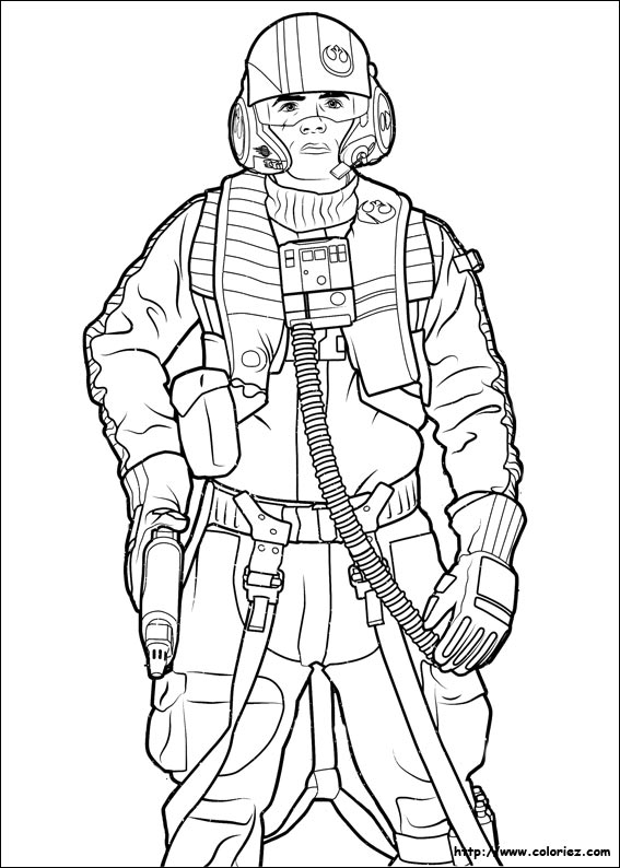 23 Luke Skywalker Coloring Page Printable | FREE COLORING PAGES