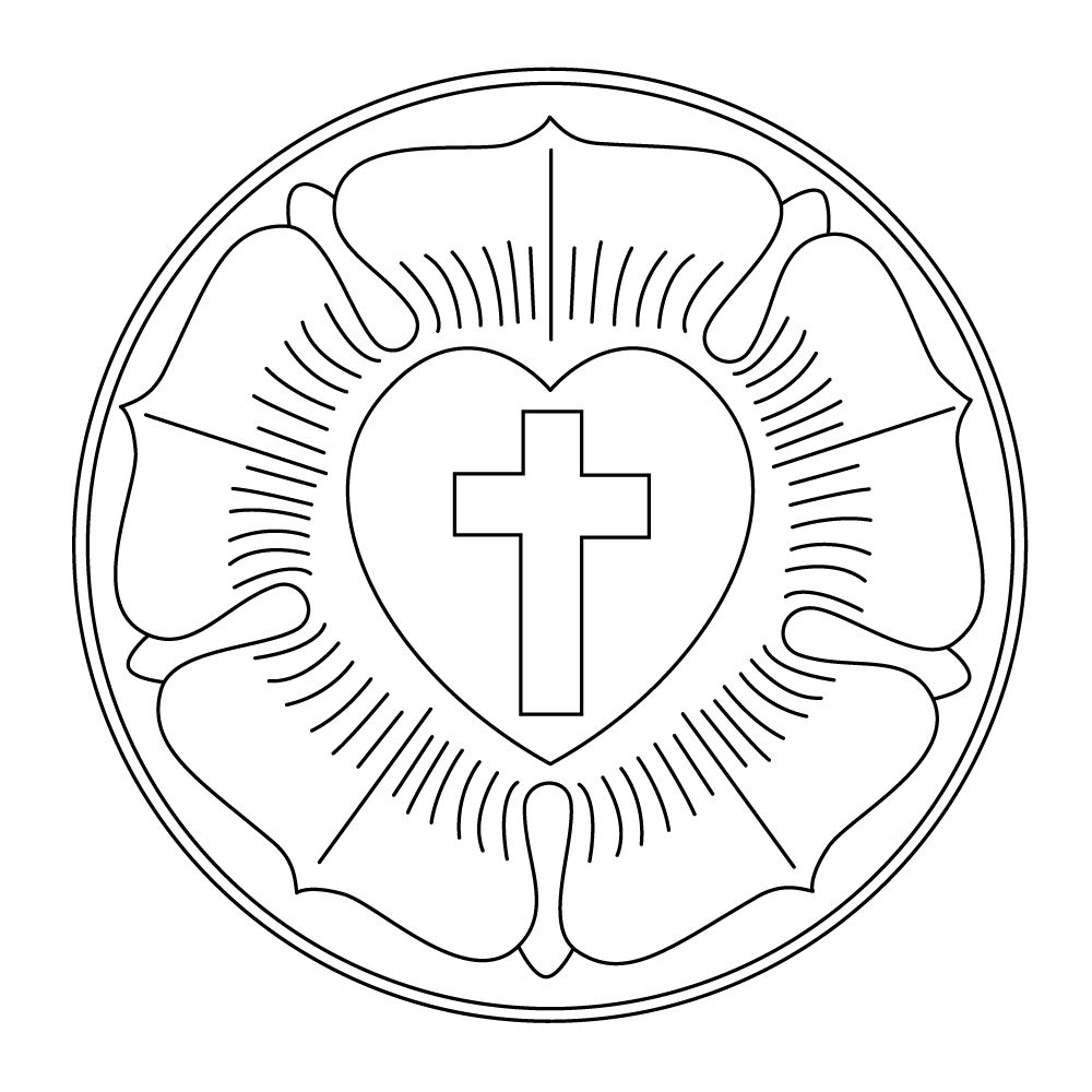 luther rose coloring page - q=luther rose