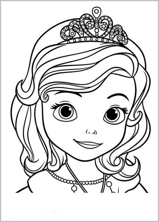 madagascar coloring pages - sofia erste 1