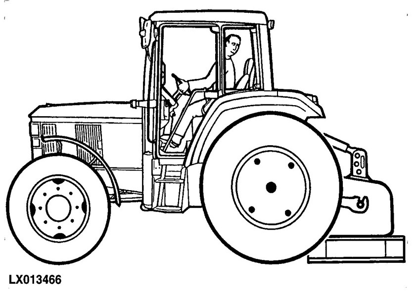 madagascar coloring pages - traktor 11