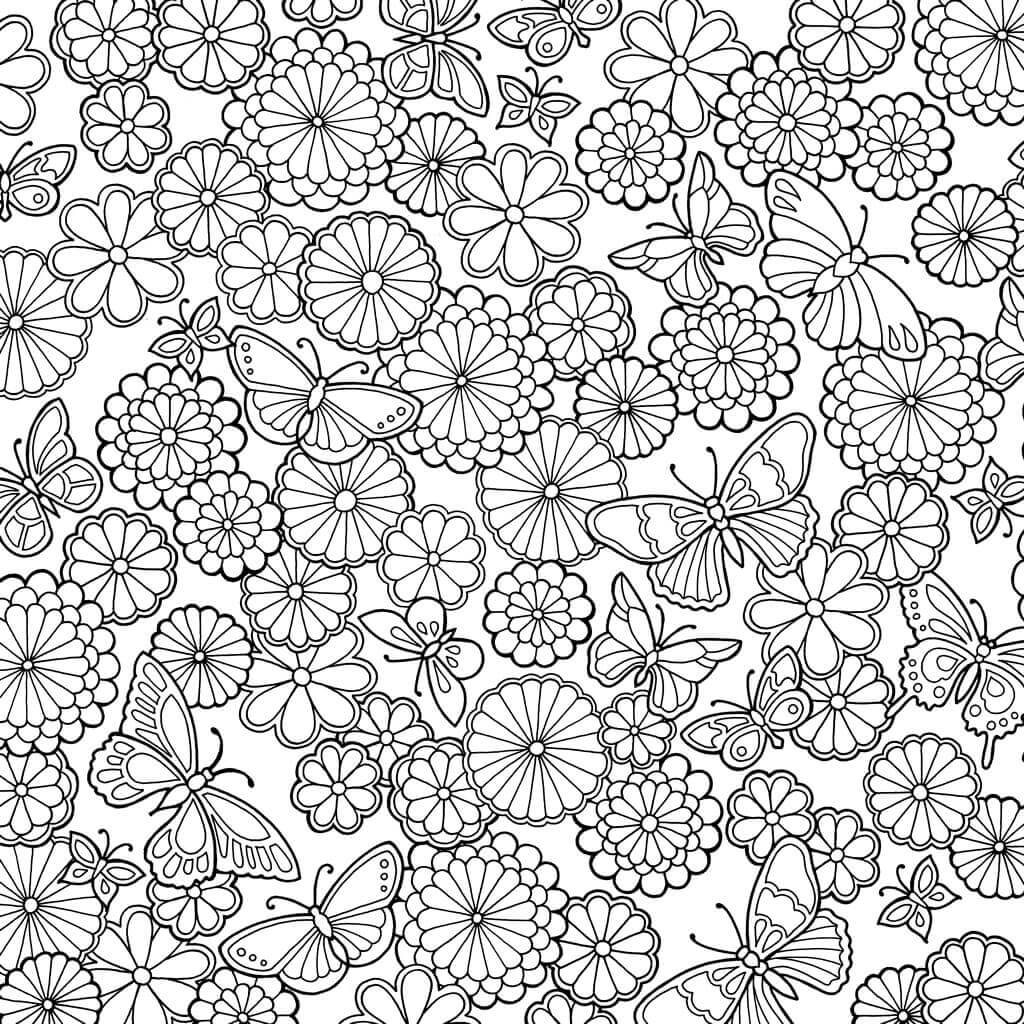 magical jungle coloring pages - johanna basford and colour