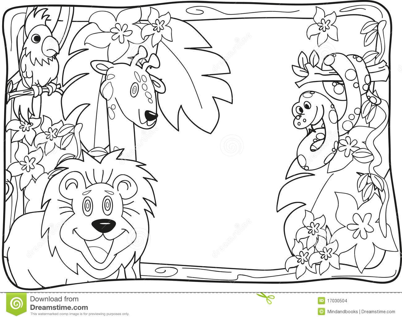 21 Magical Jungle Coloring Pages Pictures Free Coloring Pages