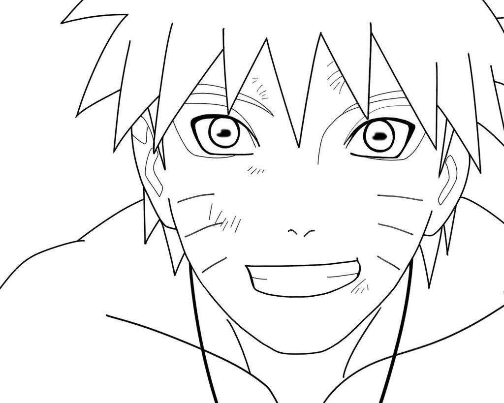 make coloring pages from photos - naruto coloring pages
