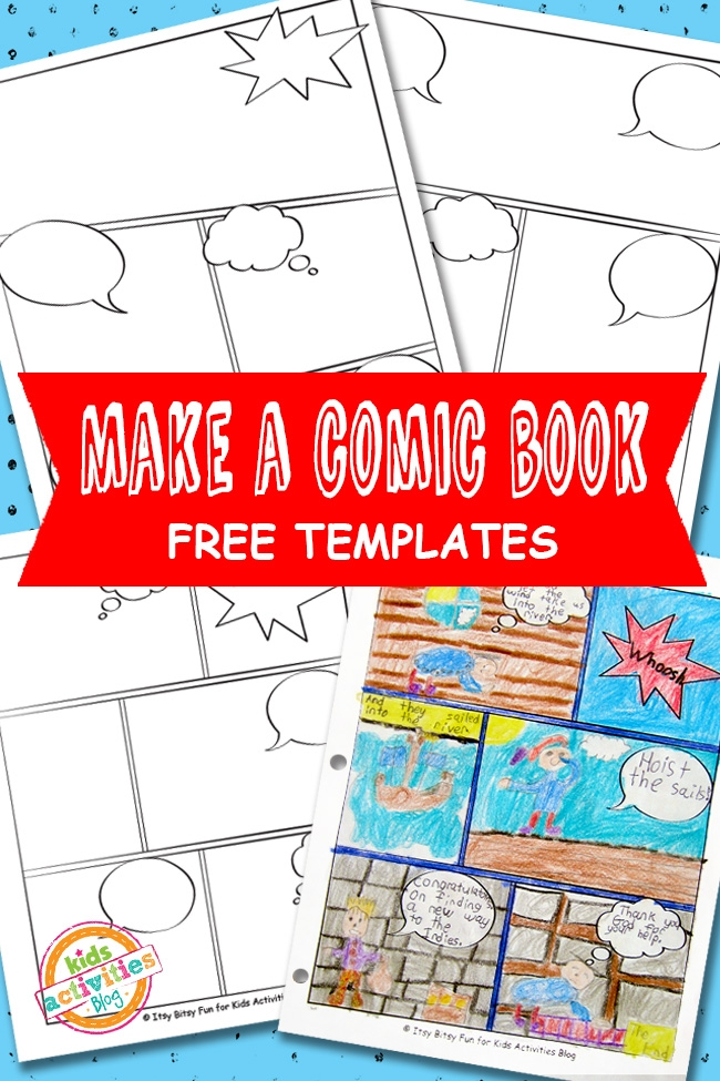 make your own coloring pages for free - ic book templates